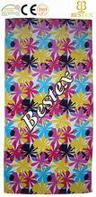 Love Beauty Colorful lightweight Printing Velvet beach towels