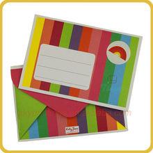 Salable colored manila envelopes