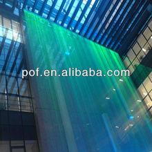 Plastic Optical Fiber Color Changing Chandeliers, LED fiber optic