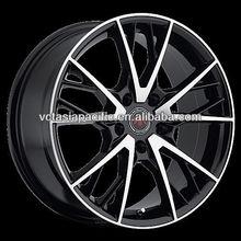 Aluminum Alloy Chrome Tuner Mag wheel 17 18 20 inch R1 black machined