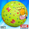 Official size hot custom design 22cm playground ball
