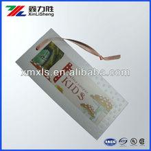 clothing hang tag in china factory / paper hang tag