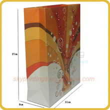 Customized Luxury Thick paper bag design