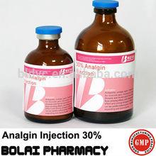 30% analgin injection medicine for livestock