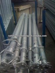big steel shoring props