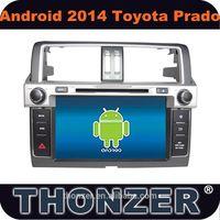 Android 4.2 CAR DVD For 2014 Toyota Prado