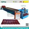 RFM-glazed tile step roof roll forming machine