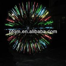 2014 Best High Quality Kids' inflatable fluorescence zorb ball,dark night grass ball