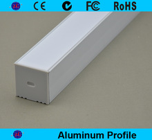 Hot sale high power home decoration recessed aluminum profile for ceiling and wall