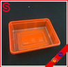 double color disposable food packaging tray