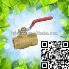Jinerjian brass ball valve pn20 cw617n for bronze valve
