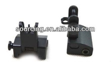 Tactical Flip up Front and Rear Back up For AR-15 Iron Sight
