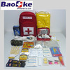 Red cross and hospital paramedic bag, earthquake emergency kit