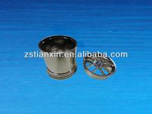 Custom metal pen container/antique pen holder