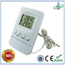 Digital Alam Temperature Monitor Meter for Refrigerator Freezer Probe Gauge Sensor