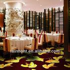Flower Design Wool Carpet AS02, Hotel Corridor Carpet for Hotel Hallway