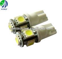 Best selling,brightest T10,5SMD5050,110lumen,12V,24V,6V DC,led car bulb