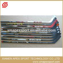 New model high quality composite custom ice hockey sticks