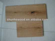Smooth White washed oak Engineered Wood Flooring