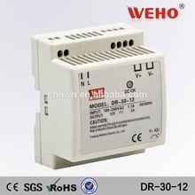 Factory outler dinrail swiching power supply DR-30-12 220v ac 12v dc led driver