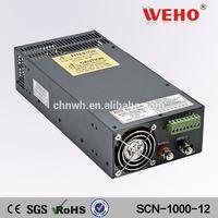 Metal case 1000w power supply 12v 24v 48v ac dc converter 12v 1000w power supply