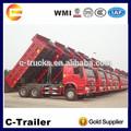 baixo preço da china sinotruk howo 6x4 basculante caminhões