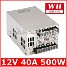 good price single output 500w 12v dimmable led driver