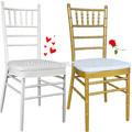 fábrica al por mayor de la boda silla tiffany con suave cojín del asiento