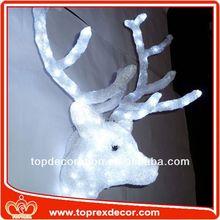 Christmas lighting elk meat