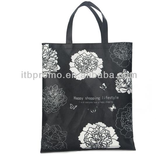 2015 hot sale non-woven sublimation printed reusable shopping carry bags