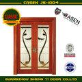 chino rentable de arte de vidrio puertas correderas