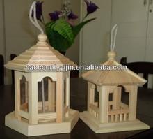 Garden decoration use lovely wooden bird house ,bird cage