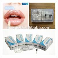 China manufacturer Derm filler HA hyaluronic aicd filler Singfiller Derm 0.15-0.28 mm lip volume 2ml