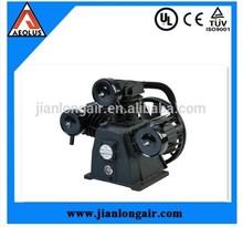 10hp 8bar single stage piston air compressor bare pump with CE