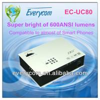 mini projector with tv tuner vga av s-video 2*hdmi ports 2 usb inputs