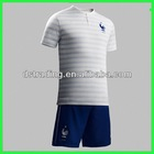2014 World Cup Custom France away soccer uniform, wholesale France away soccer jersey