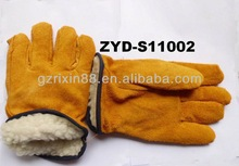 higt quality working furniture driving leather gloves