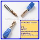 2 flutes end mills for copper