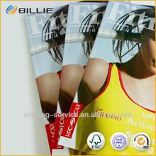 Glossy Lamination Product Brochures Printing in China