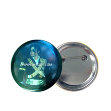 Commemoration of Honor famous people Michael Jackson Big Tin Pin badge