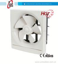 In-out aria 6 pollici 3/8 pollici/10 pollici/12 pollici di scarico ventilatore ventilazione ventilatore ad energia solare ventola di raffreddamento per aria pulita uso