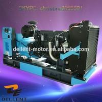 2015 new design open/silent style 125kva generator set spare parts