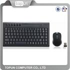 2.4G Wireless Combo Mini Size Keyboard Mouse Combo, Slim Keycap Keyboard, Mini Both Hands 3D Optical Mouse