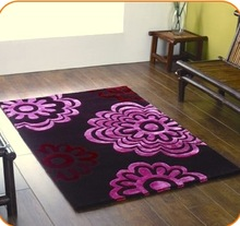Hand Tufted Wool Round Carpet for Babies 01