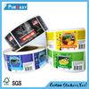 High quality custom e liquid adhesive label sticker