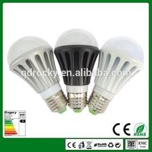 CE&RoHS 680lm Aluminum E27 3W 5W 7W 9W A60 led bulbs