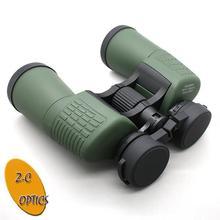 roof prism binoculars 18-0735XWA-Full Rubber binocular with stand