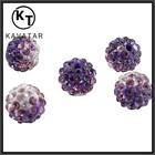 elegant purple rhinestone beads / wholesale beads / bead treasures