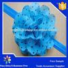 Baby girls hair accessories headbands with big chiffon flower