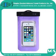 Universal zip lock colorful PVC dry bag waterproof phone pvc bag for mobile phone